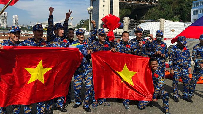 Army Games 2021: Đội Việt Nam vượt Trung Quốc để giành huy chương bạc  - Ảnh 1.