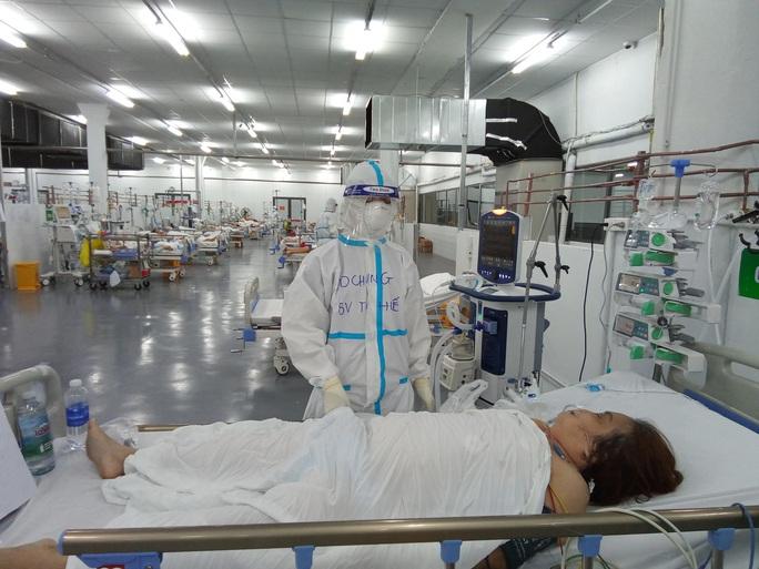 TP HCM: Bên trong bệnh viện dã chiến số 14 chuyên cấp cứu bệnh nhân Covid-19  - Ảnh 2.
