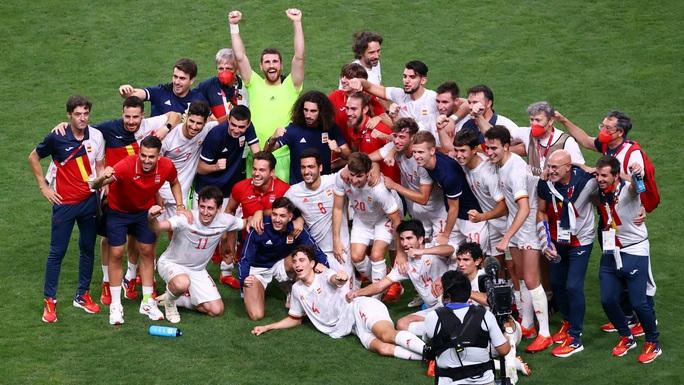 Đánh bại Nhật Bản, Tây Ban Nha chạm trán Brazil tại chung kết Olympic - Ảnh 13.