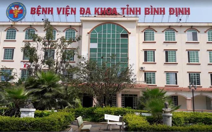 Bệnh viện Đa khoa tỉnh Bình Định, nơi vừa phát hiện một ca Covid-19 đến sinh con