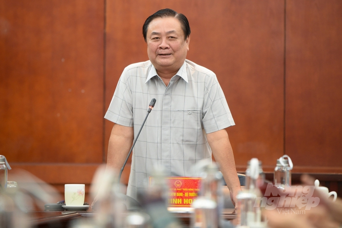 Bộ trưởng Lê Minh Hoan: Chúng ta phải bán cái thị trường cần - Ảnh 1.
