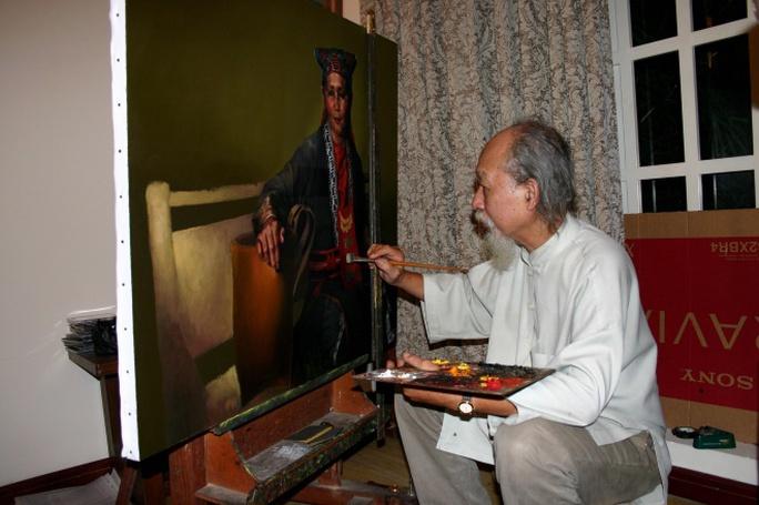 Họa sĩ Đỗ Quang Em từ trần, thọ 79 tuổi - Ảnh 2.