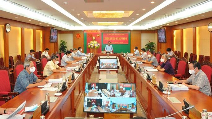 Khai trừ khỏi Đảng 3 ông Nguyễn Hoài Nam, Lê Tấn Hùng, Tề Trí Dũng - Ảnh 1.