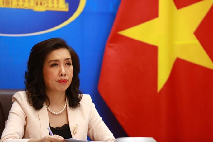 Trung Quốc tập trận tại quần đảo Hoàng Sa là vi phạm chủ quyền của Việt Nam - Ảnh 1.