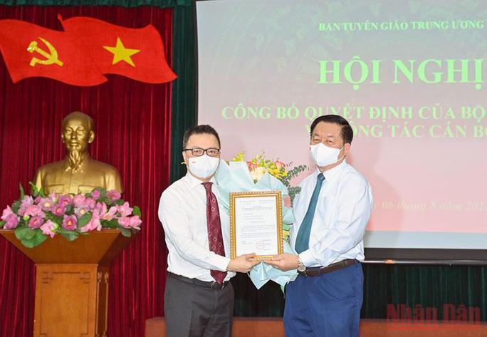 Tổng Biên tập Báo Nhân dân Lê Quốc Minh thêm trọng trách mới - Ảnh 1.