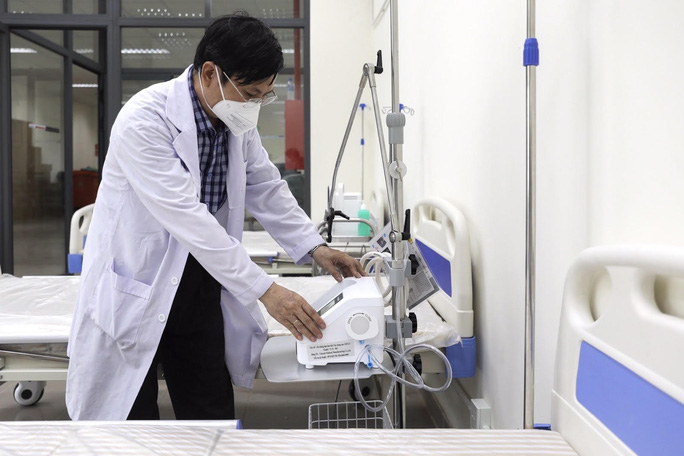 Khánh thành 3 trung tâm hồi sức bệnh nhân Covid-19 tại TP HCM - Ảnh 13.
