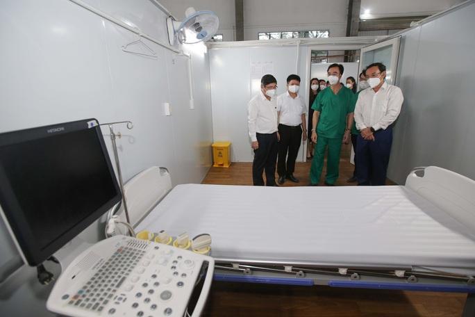 Khánh thành 3 trung tâm hồi sức bệnh nhân Covid-19 tại TP HCM - Ảnh 5.