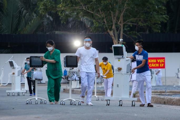 Khánh thành 3 trung tâm hồi sức bệnh nhân Covid-19 tại TP HCM - Ảnh 14.