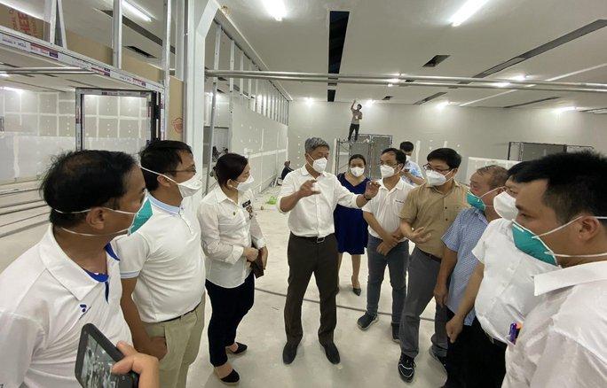 Khánh thành 3 trung tâm hồi sức bệnh nhân Covid-19 tại TP HCM - Ảnh 12.