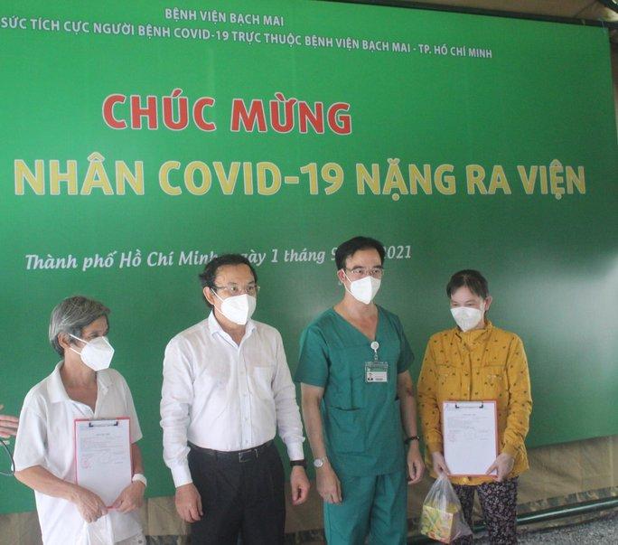 TP HCM: Hơn 200 bệnh nhân nặng đã chuyển nhẹ tại Trung tâm Hồi sức Covid-19 Bệnh viện Bạch Mai - Ảnh 1.