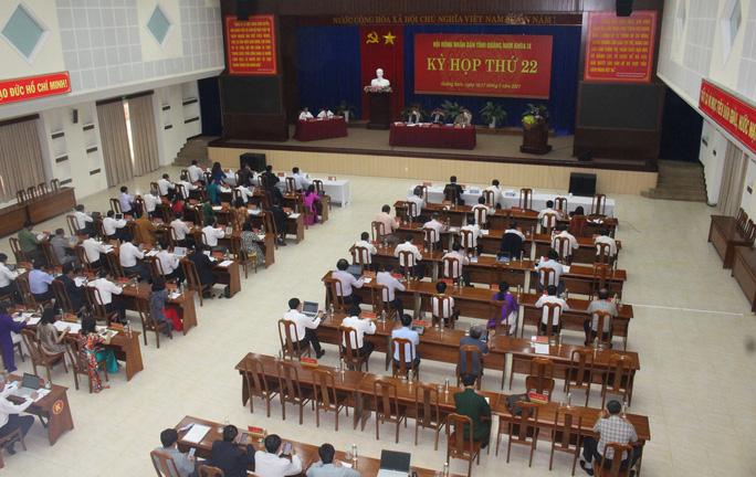 Cắt giảm hội họp, công tác, Quảng Nam tiết kiệm hơn 41,3 tỉ đồng - Ảnh 1.