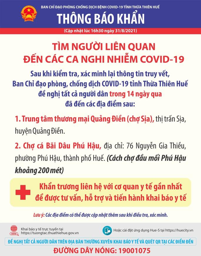 Thừa Thiên - Huế: Kết quả ban đầu xét nghiệm Covid-19 tại chợ cá Bãi Dâu - Ảnh 2.