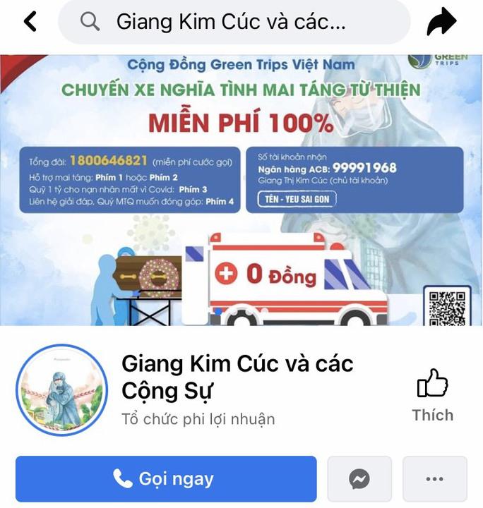 Chủ fanpage Giang Kim Cúc và các Cộng Sự bị phạt 10 triệu đồng  - Ảnh 1.