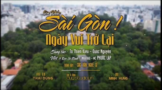 30 nghệ sĩ nổi tiếng tham gia MV ca cổ Sài Gòn, ngày vui trở lại của NSƯT Hữu Quốc - Ảnh 5.