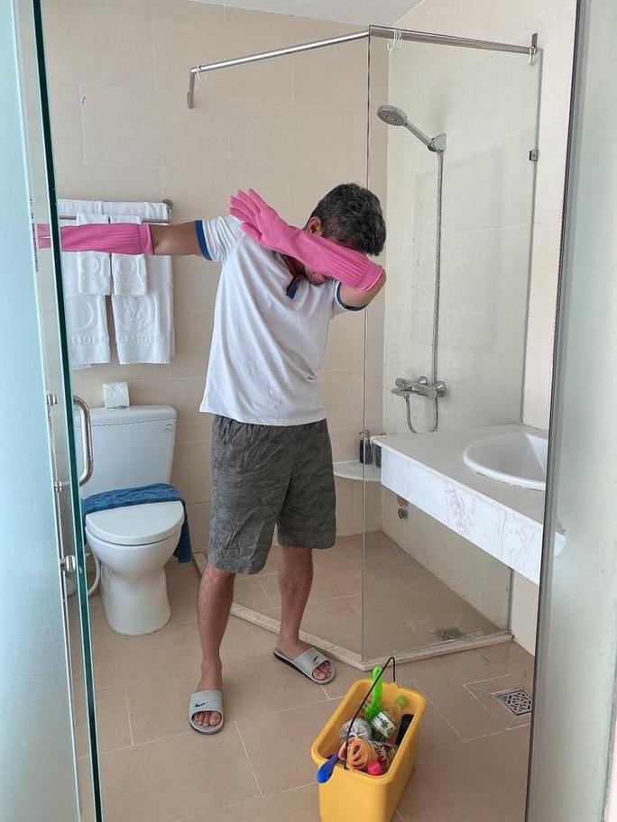 Lương Bằng Quang - Ngân 98... dọn phòng, chà toilet kiếm sống - Ảnh 3.