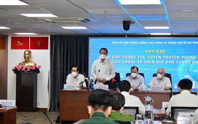 Chủ tịch UBND TP HCM: TP tiếp tục giãn cách xã hội theo Chỉ thị 16 đến cuối tháng 9 - Ảnh 1.