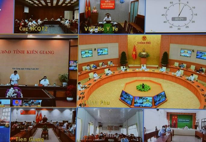 Thủ tướng: Kiên Giang, Tiền Giang xét nghiệm chậm, còn chủ quan, phòng dịch một số nơi chưa tốt - Ảnh 2.