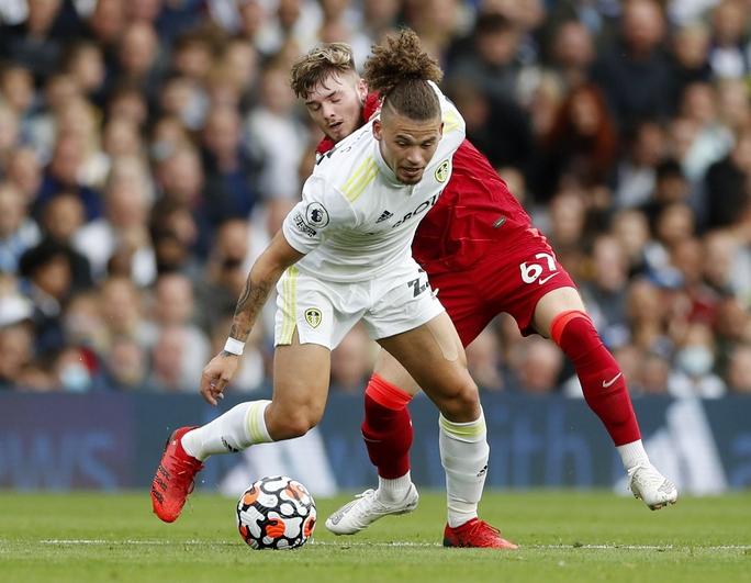 Mohamed Salah lập kỳ tích, Liverpool vọt lên Top 3 Ngoại hạng Anh - Ảnh 3.
