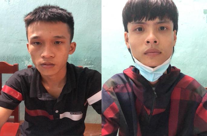 Shipper tới địa điểm giao hàng, bị 2 thanh niên cầm kiếm cướp điện thoại iPhone 7 - Ảnh 1.
