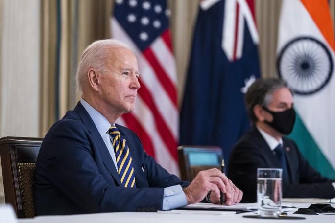 """Tổng thống Biden làm việc chưa từng có với """"Bộ tứ"""" - Ảnh 1."""