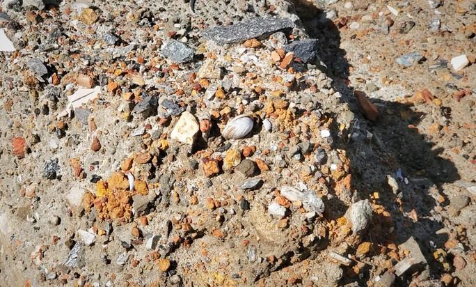 Đà Nẵng: Nghi vấn dùng đất lẫn rác thải để san nền công trình hơn 17 tỉ đồng - Ảnh 3.
