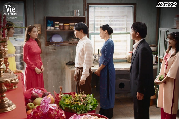 """""""Cây táo nở hoa"""" tập cuối: Ngọc - Ngà - Châu - Báu trở nên giàu có - Ảnh 1."""