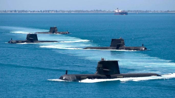Mỹ, Anh, Úc bắt tay nhau; Trung Quốc chỉ trích - Ảnh 1.