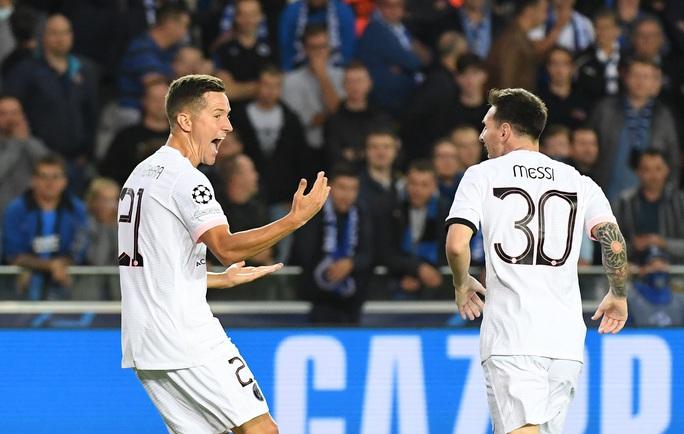Messi và tam tấu PSG nhạt nhòa, Club Brugge chia điểm đại gia - Ảnh 2.