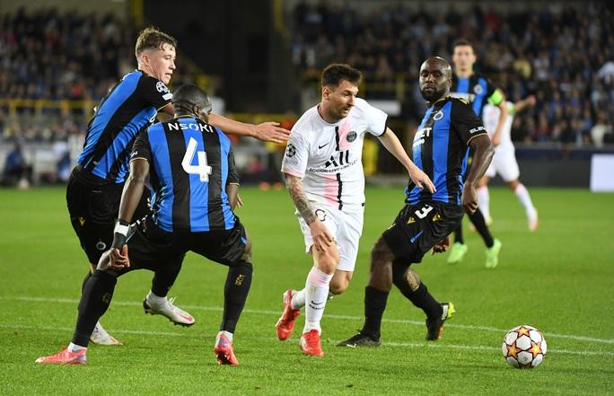 Messi và tam tấu PSG nhạt nhòa, Club Brugge chia điểm đại gia - Ảnh 3.