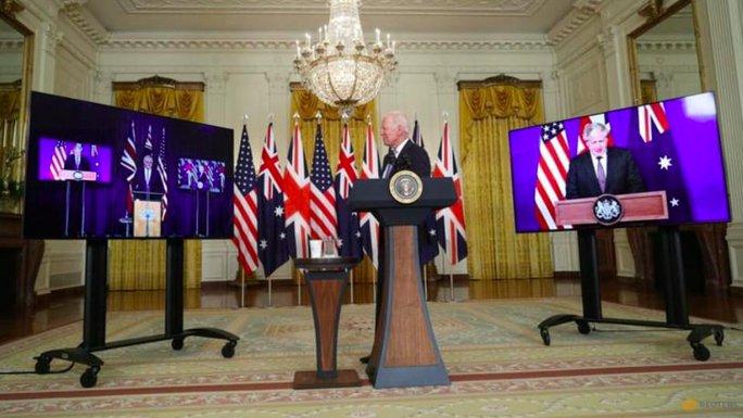 Tổng thống Biden bất ngờ lập liên minh Mỹ-Anh-Úc, Trung Quốc lên tiếng - Ảnh 2.