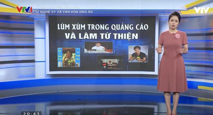VTV gọi tên sao Việt trong phóng sự Nghệ sĩ và văn hóa ứng xử - Ảnh 9.