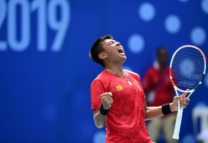Lý Hoàng Nam giúp Việt Nam lấy suất dự play-off Davis Cup 2021 - Ảnh 2.