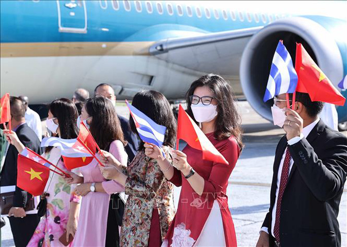 Chủ tịch nước Nguyễn Xuân Phúc đến Cuba - Ảnh 3.
