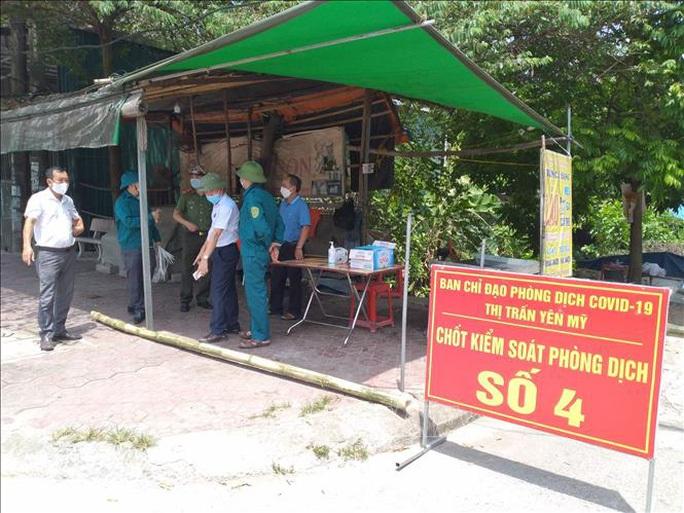 Người bán hoa quả ở Hưng Yên làm lây SARS-CoV-2 cho 8 người - Ảnh 1.