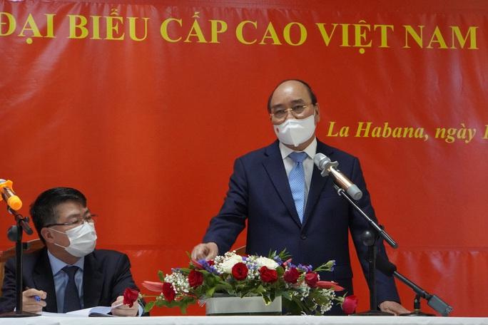 Chủ tịch nước: Sẽ bàn với Cuba về cung cấp, chuyển giao công nghệ vắc-xin ngừa Covid-19 - Ảnh 3.