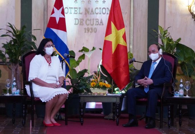 Chủ tịch nước: Việt Nam sẵn sàng đóng góp vào sự phát triển của Cuba - Ảnh 2.