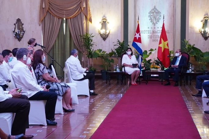 Chủ tịch nước: Việt Nam sẵn sàng đóng góp vào sự phát triển của Cuba - Ảnh 1.