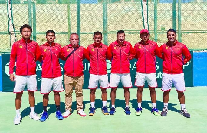 Quần vợt Việt Nam đoạt vé đấu Play - off Davis Cup nhóm II thế giới 2022 - Ảnh 1.