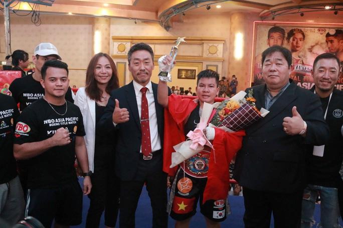 Nguyễn Thị Thu Nhi háo hức so găng tranh đai vô địch thế giới WBO - Ảnh 4.