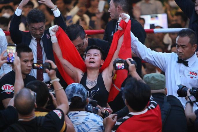 Nguyễn Thị Thu Nhi háo hức so găng tranh đai vô địch thế giới WBO - Ảnh 1.