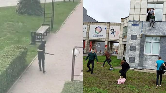 Chạy trốn sói đơn độc, sinh viên Nga thi nhau nhảy lầu - Ảnh 2.