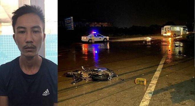 21 giờ truy tìm lái xe gây tai nạn chết người rồi bỏ trốn trong đêm - Ảnh 1.