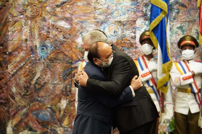 Chủ tịch nước Nguyễn Xuân Phúc được trao Huân chương José Marti cao quý nhất của Cuba - Ảnh 5.