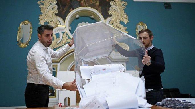Đảng Nước Nga thống nhất thắng áp đảo trong bầu cử Duma Quốc gia - Ảnh 3.