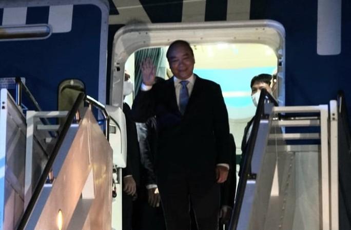 Chủ tịch nước Nguyễn Xuân Phúc đến New York, Mỹ - Ảnh 1.