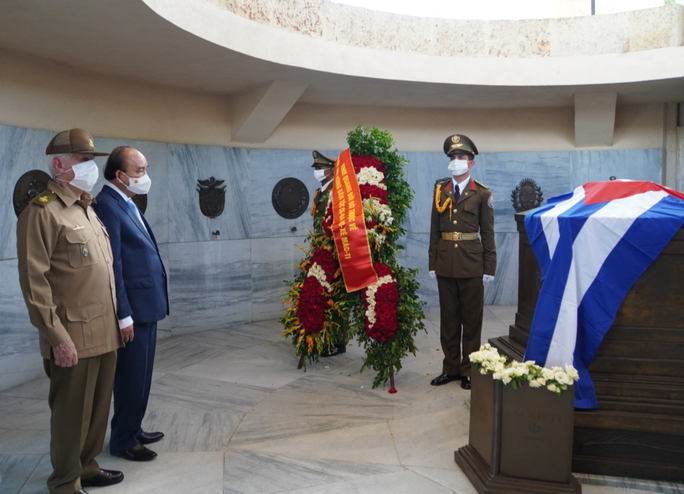 Chủ tịch nước: Hoàn thành xuất sắc, toàn diện mục tiêu chuyến đi Cuba - Ảnh 2.