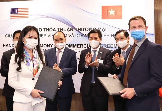 T&T Group ký các hợp đồng trên 3 tỉ đô trong chuyến công tác Mỹ của Chủ tịch nước - Ảnh 1.