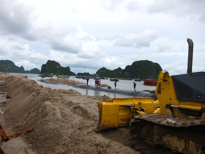 Sử dụng cát lậu thi công dự án đường bao biển đẹp nhất Việt Nam - Ảnh 2.