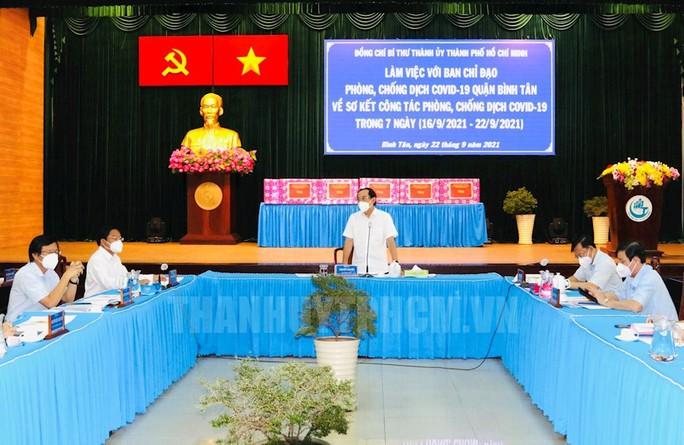 Sau ngày 30-9, quận Bình Tân sẽ làm gì trong tình trạng bình thường mới? - Ảnh 1.