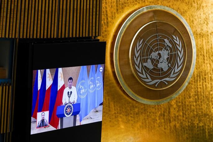 Tổng thống Philippines chỉ trích nước giàu tại Liên Hiệp Quốc - Ảnh 1.